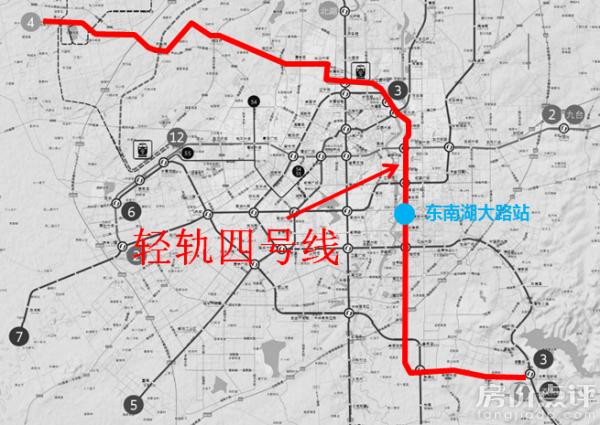 苏州轻轨1 4号线详细路线图图片